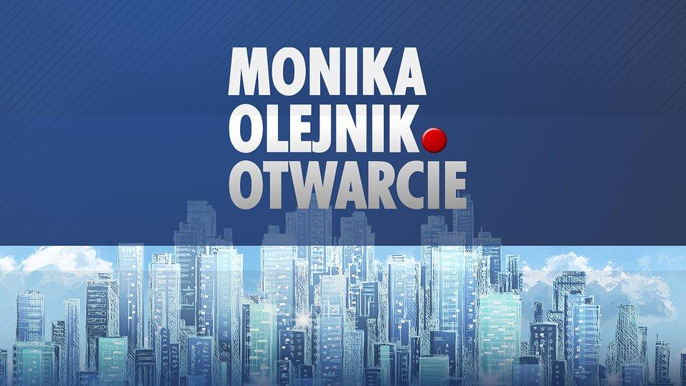 """Logo programu """"Monika Olejnik. Otwarcie"""""""