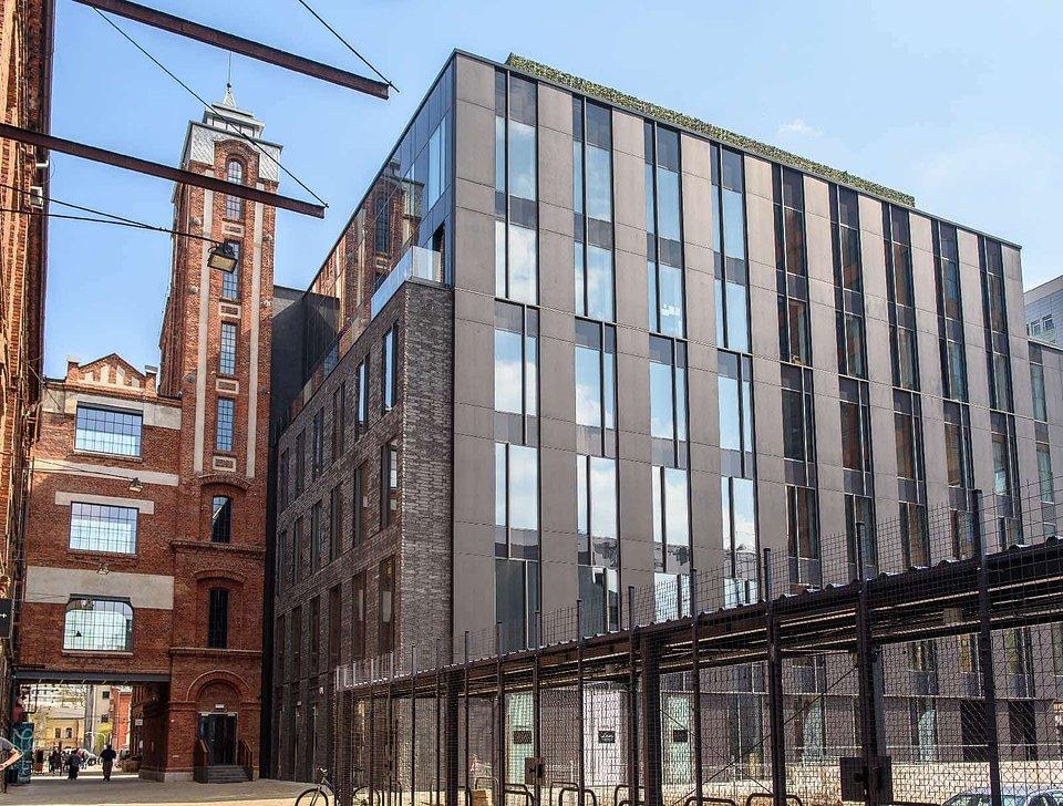 Biurowiec Teal Office na terenie OFF Piotrkowska Center w Łodzi