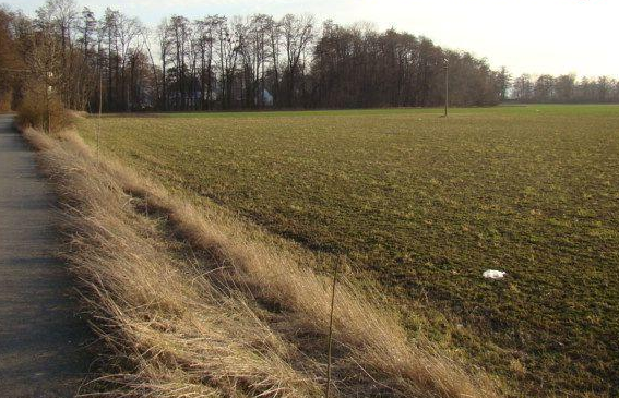 Acquired land near Opava