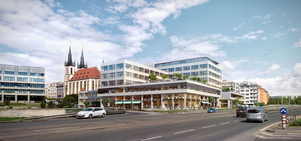 Budova bývalých Elektrických podniků - Bubenská 1 (zdroj: www.bubenska.cz)