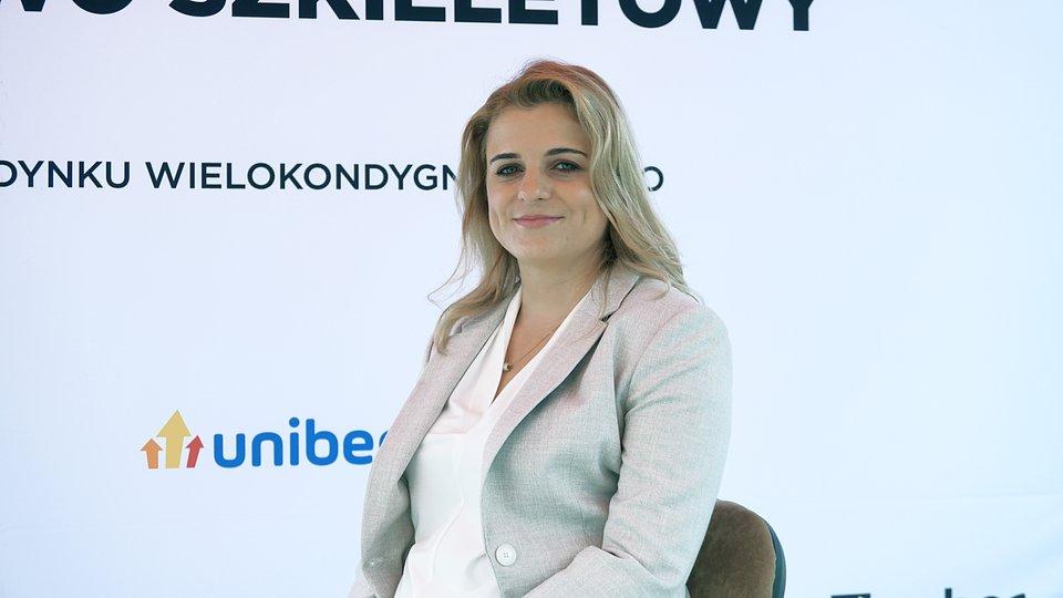 Marta Nazarczuk, mgr inż. Kierownik działu technologii, badań i rozwoju Unihouse S.A.