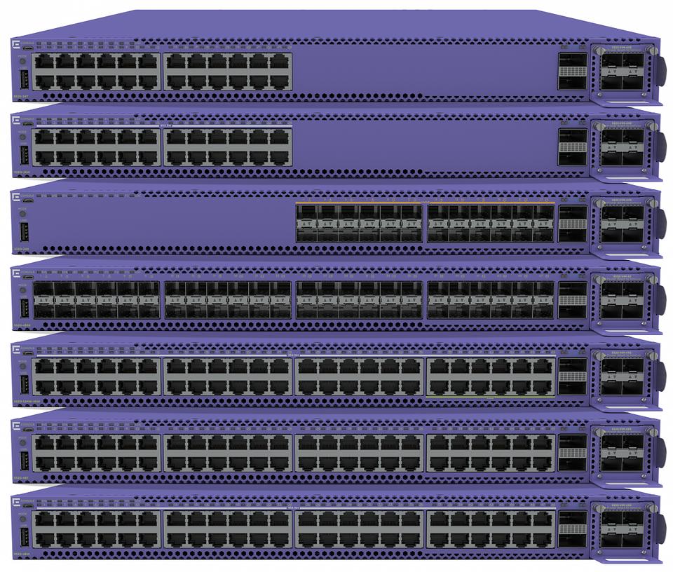 ExtremeSwitching 5520 Series - a universal edge/aggregation switch platform.