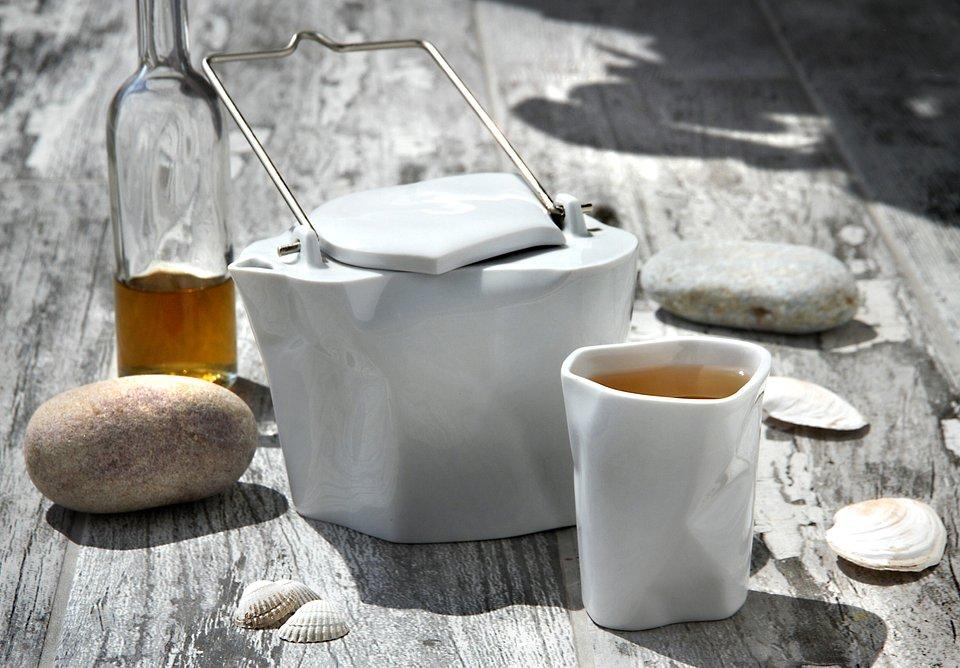 Zestaw do herbaty Pogięty, Ćmielów Design Studio