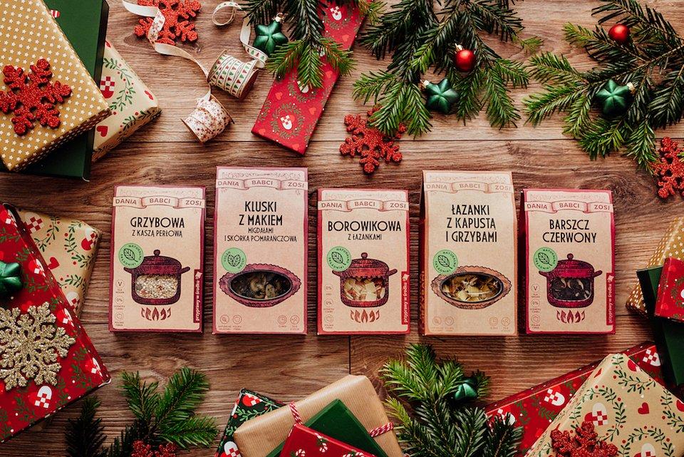 Świąteczna seria Dań Babci Zosi dostępna w sklepach Lidl oraz w sklepie internetowym marki.