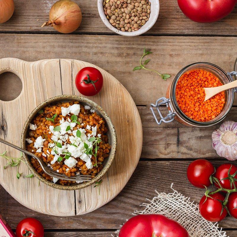 Dania Babci Zosi_kaszotto z soczewicą i pomidorami2.jpg