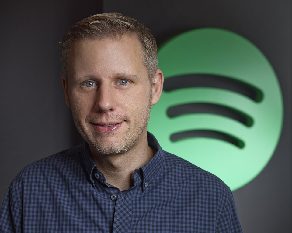 Michael Krause, Managing Director Central Europe, Spotify. Fotocredit: © Spotify/Knut Stritzke