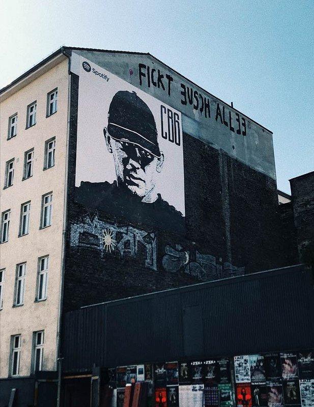 Mural Berlin-Kreuzberg - Fotocredit © saymyname