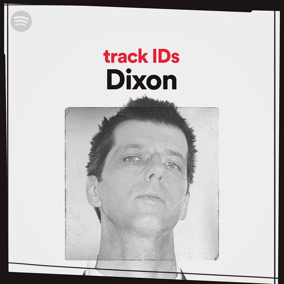 Playlist Cover track IDs Dixon