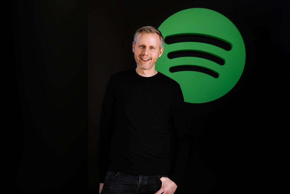 Michael Krause, General Manager Europe, Spotify. Fotocredit: © Marlen Stahlhuth