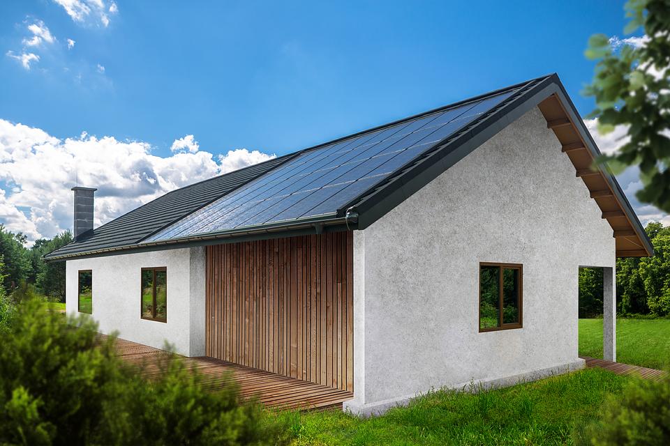 Dach solarny SunRoof połączony z tradycyjną dachówką