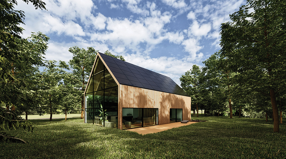 MAIN PRIZE - PROJECT: Wooden Eco-House in the Forest, DESIGNER: Adam Piaseczyński