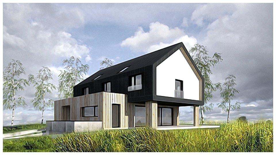 Dom z dachem solarnym SunRoof w Tarnowskich Górach