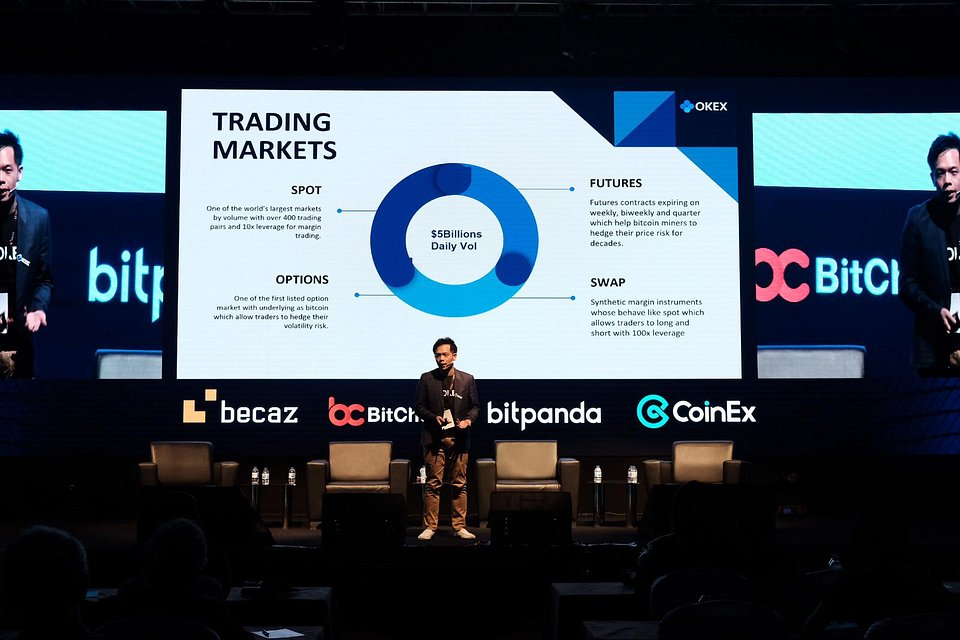 Lennix Lai, Financial Markets Director of OKEx delivered a keynote speech on 21 Feb 2020.