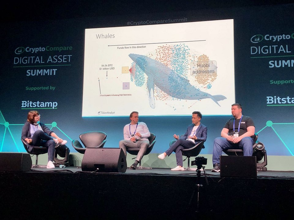 Lennix Lai, Financial Markets Director of OKEx, on an amazing panel discussion around the topic of the role of digital asset derivatives and sophisticated financial instruments.
