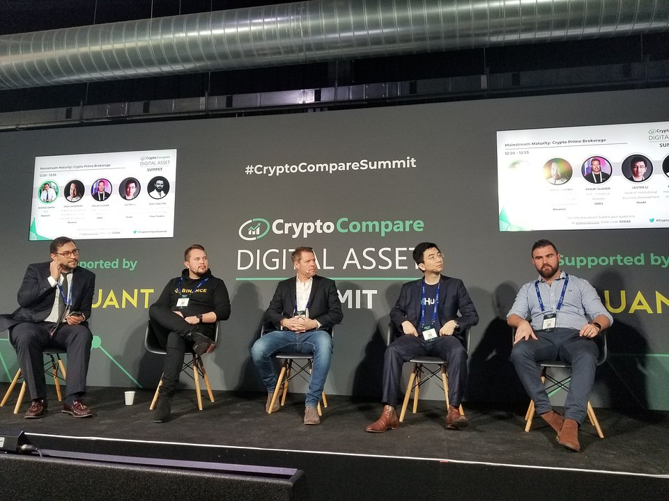 Philip Glover, AVP - Financial Markets of OKEx, joined another panel discussion on mainstream maturity, especially on the crypto prime brokerage.
