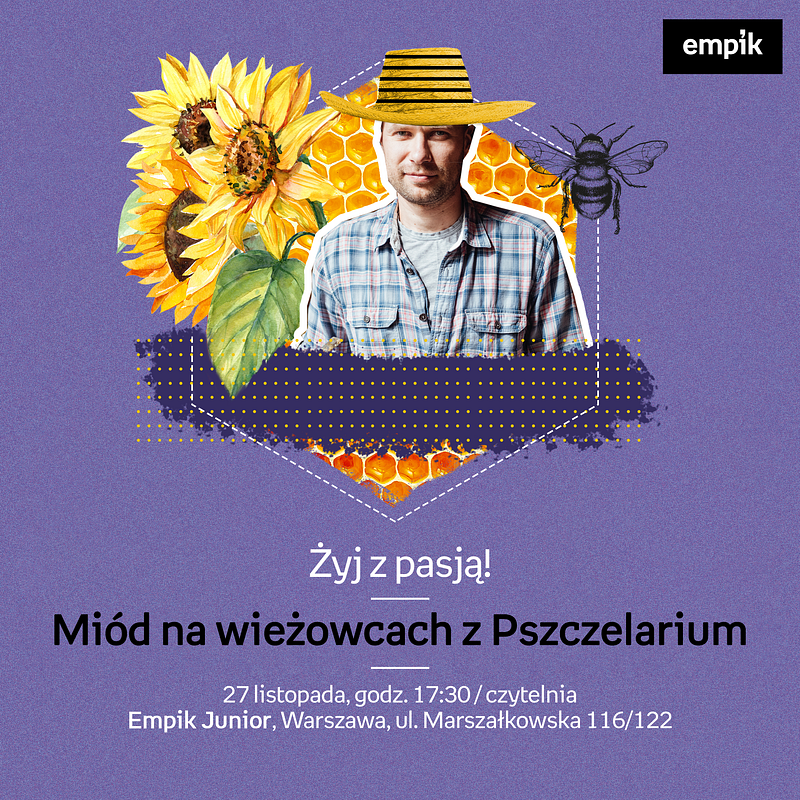 empik_zyj z pasją_pszczelarium.png