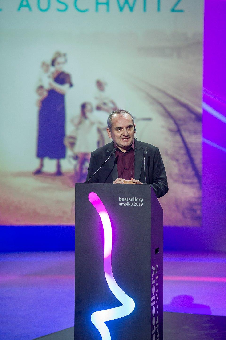 Mario Escobar z Bestsellerem Empiku 2019 w kategorii literatura piękna