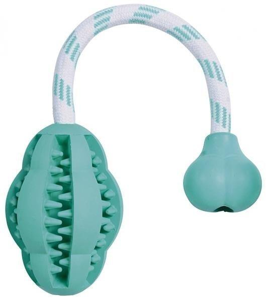 Trixie dentafun gryzak z gumy miętowy 28 cm 25,78 zł.jpg