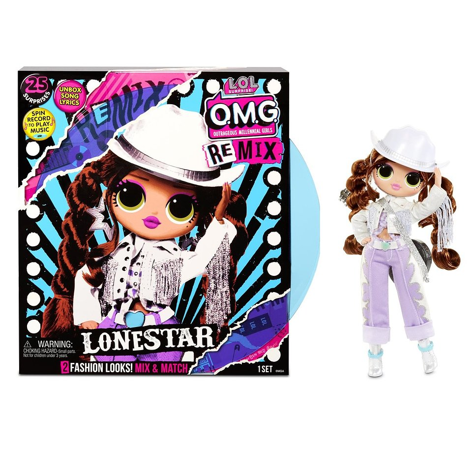 L.O.L. Surprise, laleczka OMG Remix Lonestar 206,41 zł.jpg