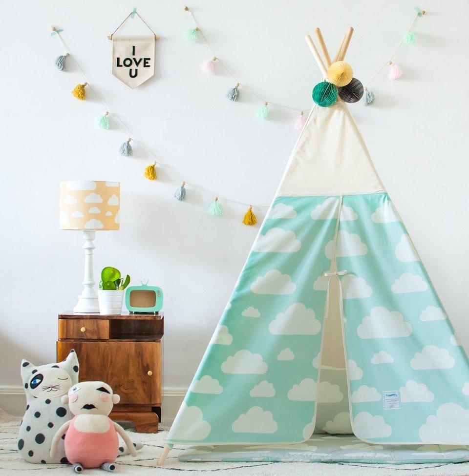 MIA home, namiot tipi chmurki mint 399 zł.jpg