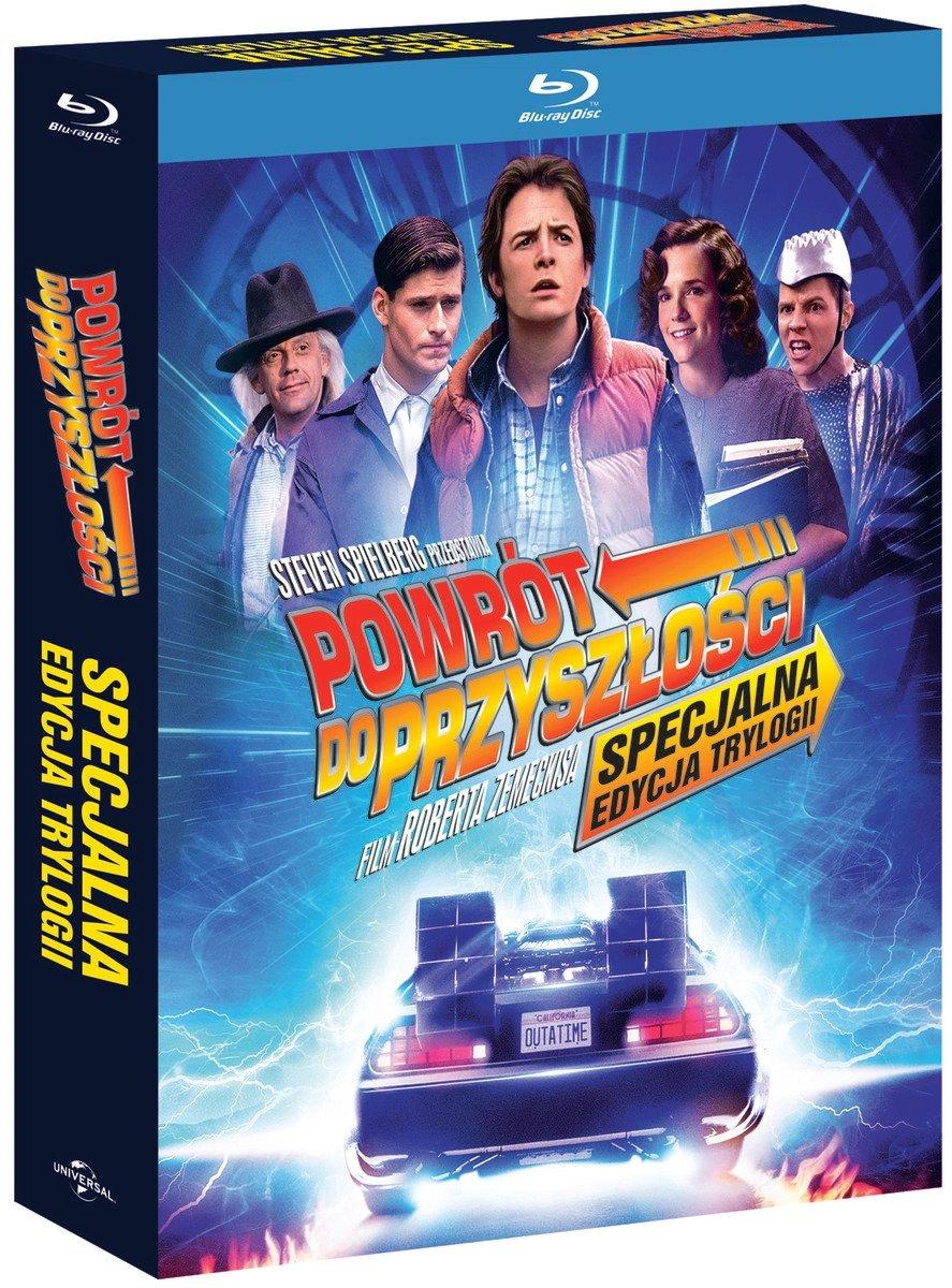 Powrót do przyszłości. Trylogia (edycja specjalna) (Blu-ray Disc) 87,99 zł.jpg