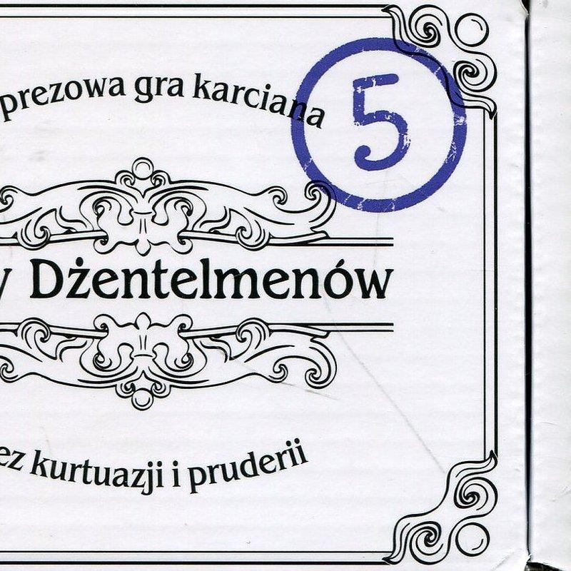 Kojar, gra towarzyska Karty dżentelmenów - Epizod piąty 36,99 zł.jpg