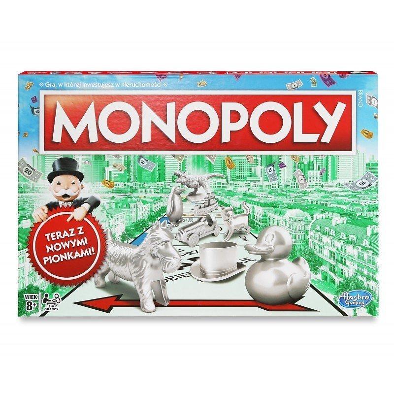 Monopoly, gra strategiczna Monopoly Classic 109,00 zł.jpg
