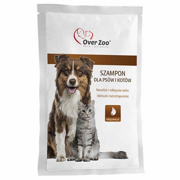 Szampon dla psów i kotów OVERZOO, 20 ml 3,19 zł.jpg