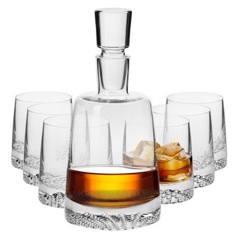 Komplet szklanek i karafka do whisky KROSNO Fjord, 7 elementów 170,99 zł.jpg