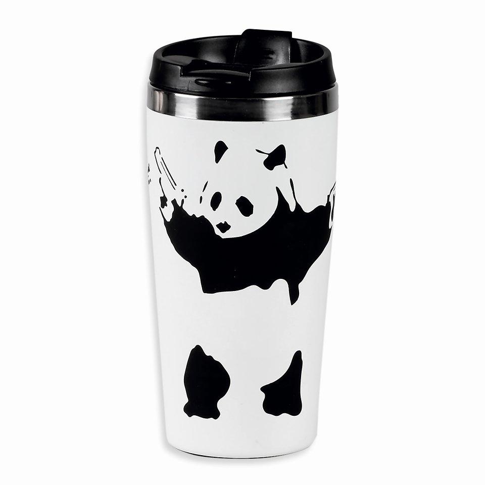 Banksy, Kubek termiczny, Panda guns, 450 ml 49,99 zł.jpg