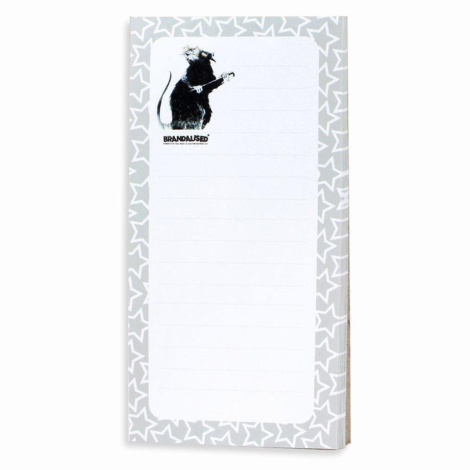 Banksy, Lista zakupowa, Hollywood rat, 70 kartek 9,99 zł.jpg
