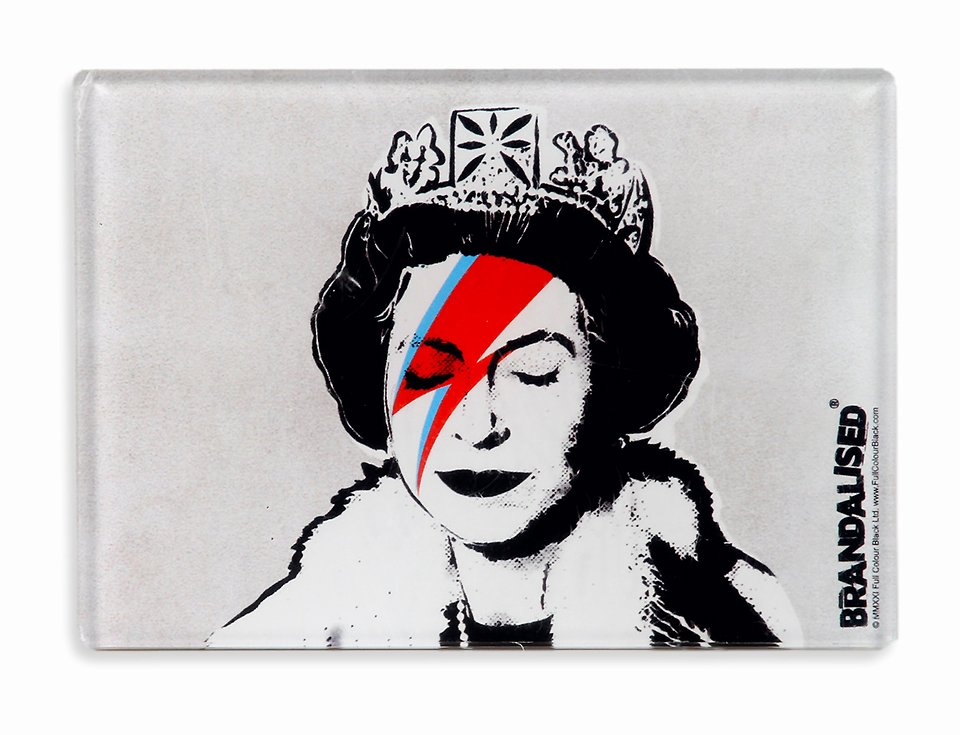 Banksy, Magnes, Lizzie stardust 12,99 zł.jpg