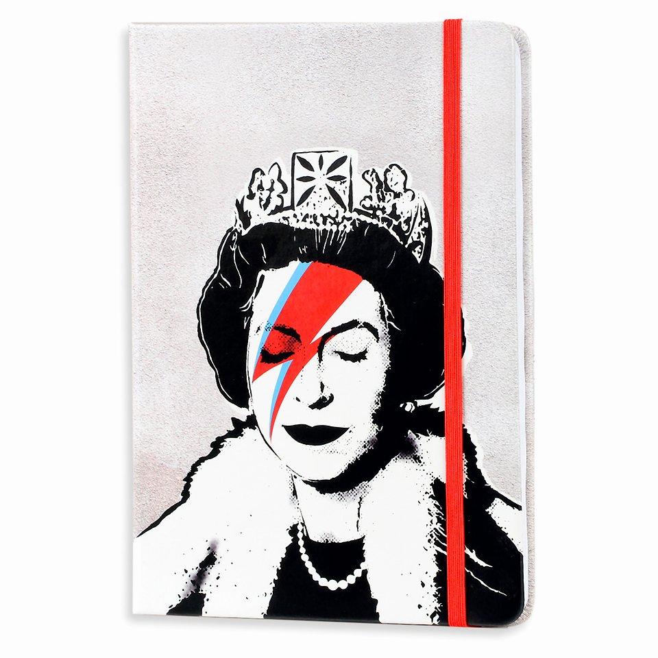 Banksy, Notatnik, A5, Lizzie stardust, 96 kartek 24,99 zł.jpg