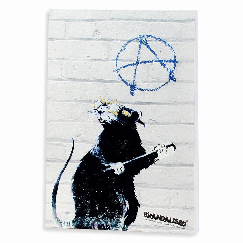 Banksy, Notes, Hollywood rat, A5, 60 kartek 14,99 zł.jpg