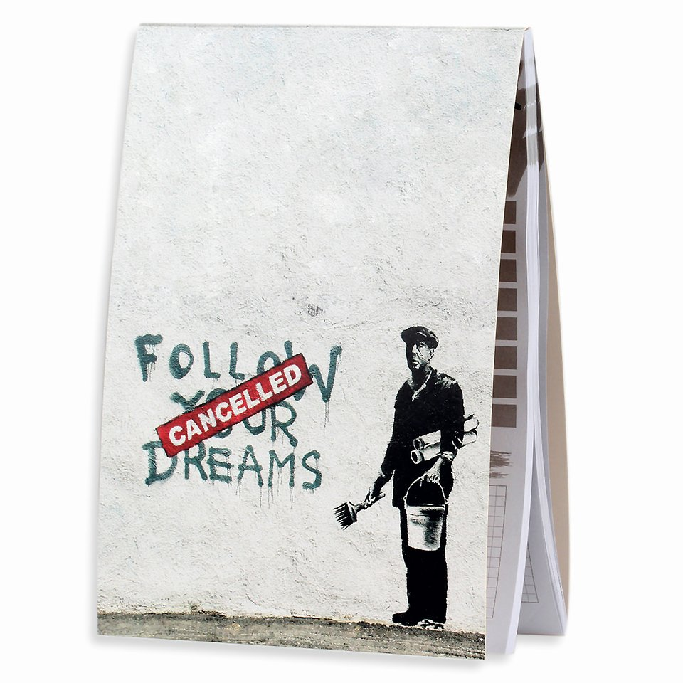 Banksy, Planer dzienny, 65 kartek 14,99 zł.jpg