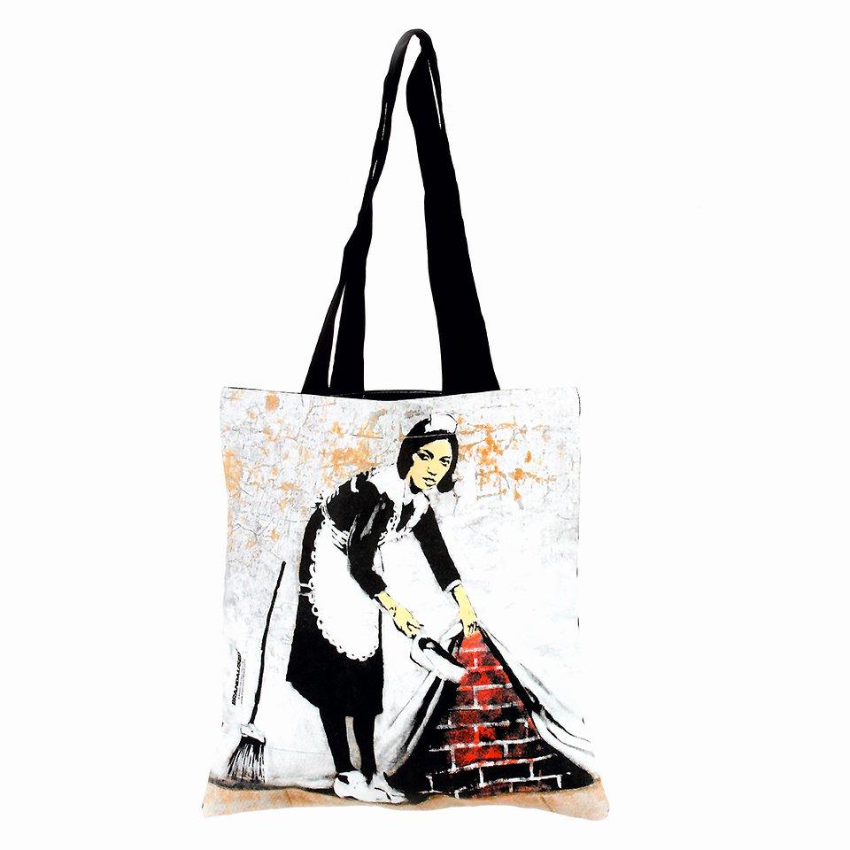 Banksy, Torba na ramię, Camden maid 29,99 zł.jpg