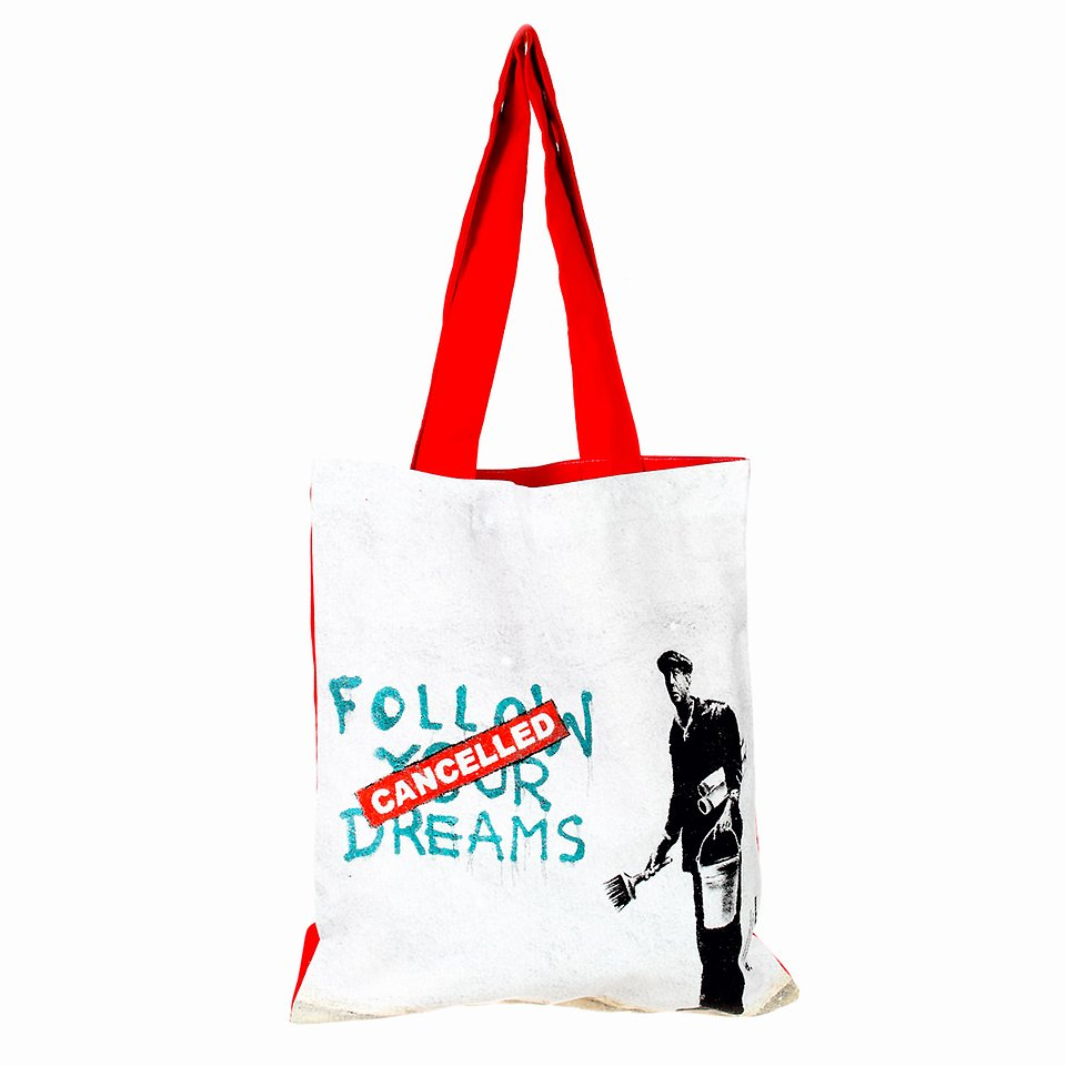 Banksy, Torba na ramię, Follow your dreams 29,99 zł.jpg