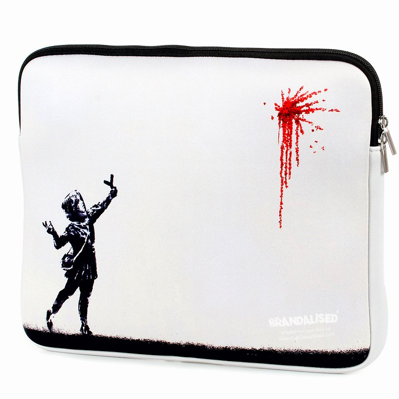 Banksy, Etui na laptopa, Catapult roses 39,99 zł.jpg