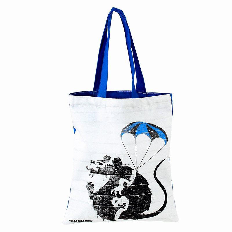 Banksy, Torba na książkę, Ball parachute rat 19,99 zł.jpg