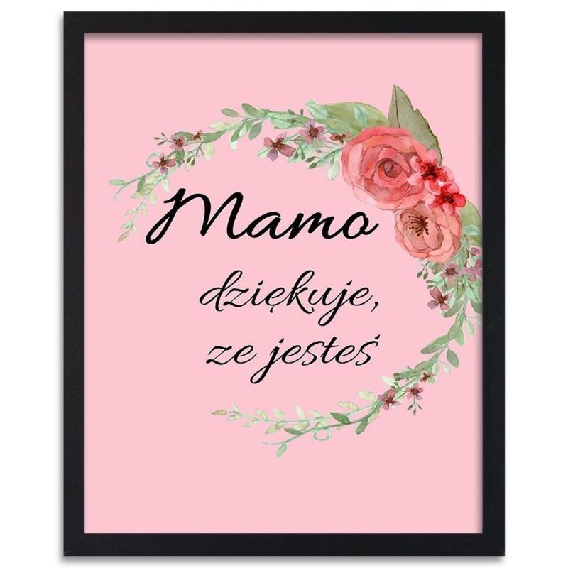Plakat w ramie czarnej FEEBY Dla Mamy 2, 50x70 cm 101,99 zł.jpg