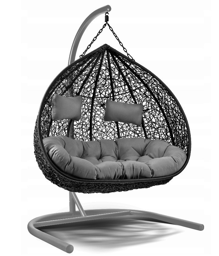 Fotel wiszący 2 osobowy Lilia czarny-szary-antracyt 2579,00 zł.jpg