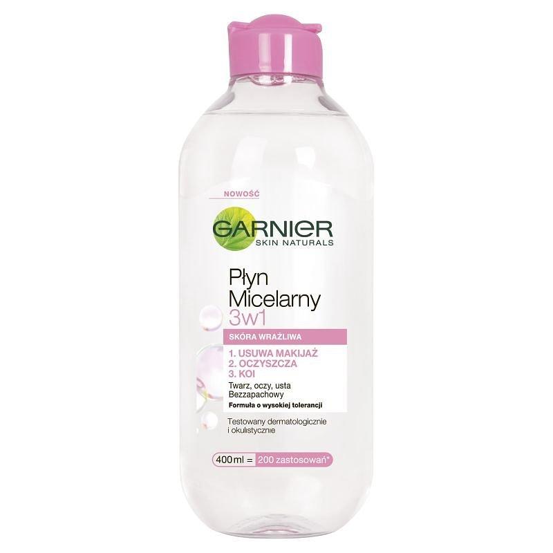 Garnier, Skin Naturals, płyn micelarny 3w1, 400 ml 15,78 zł.jpg