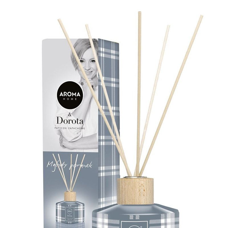 Aroma home & Dorota, patyczki zapachowe, Mglisty poranek 25,99 zł.jpg