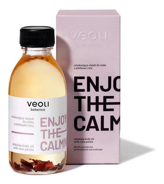 Veoli Botanica, Enjoy The Calmness, olejek do ciała z płatkami róży, 150 ml 83,72 zł.jpg