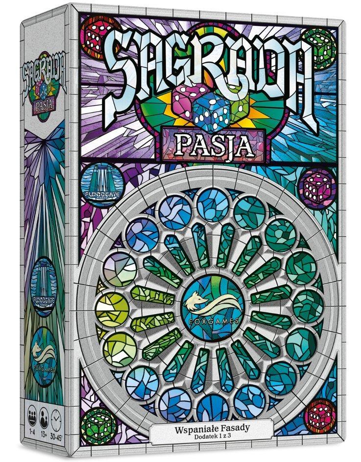 FoxGames, gra planszowa Sagrada. Pasja 50,98 zł.jpg