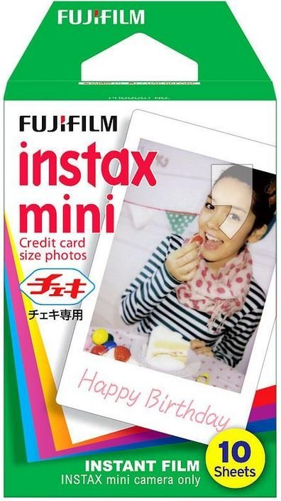 Wkład natychmiastowy FUJIFILM Instax mini Glossy, 10 szt 39,99 zł.jpg