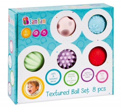 Bam bam, zabawka edukacyjna Kule sensoryczne, zestaw 28,99 zł.jpg