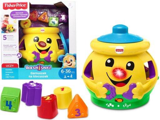 Fisher-Price, zabawka interaktywna Garnuszek na klocuszek 83,99 zł.jpg