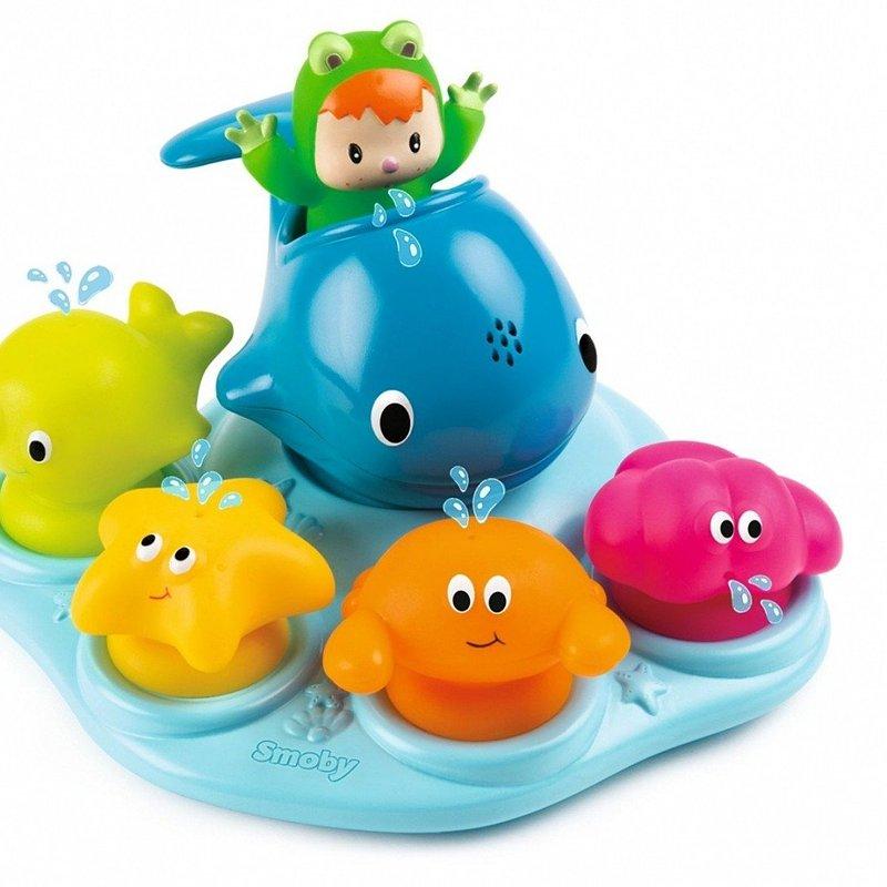 Smoby, Cottons, zabawka do kąpieli Wesoła wyspa 103,56 zł.jpg