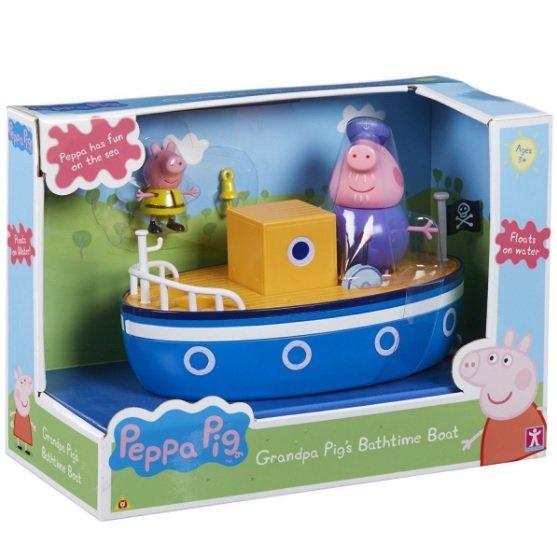 Świnka Peppa, zabawka do kąpieli Łódka z figurkami 105,99 zł.jpg